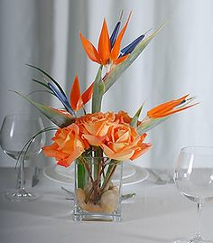 pinterest.com birds centerpiece