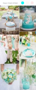 aqua-and-cream-wedding-color-ideas-for-spring-summer-2017