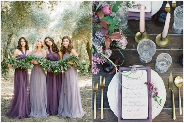 Autumn Winter Wedding Colours 2016 Spring 2017