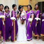 South asian bridal party looks by Doranna Wedding Hairstylist & Bridal Makeup Artist at Dreams Tulum, Mexico