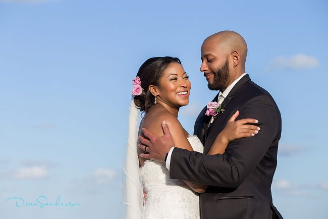 African American bride hair & makeup at Dreams Riviera Cancun, Mexico