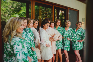 Bridal party looks at Fairmont Mayakoba, Mexico by Doranna Wedding Hairstylist & Bridal Makeup Artist