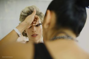 Bridal makeup in Riviera Maya, Mexico by Doranna Wedding Hairstylist & Bridal Makeup Artist