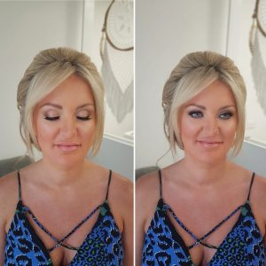 Natural bridal makeup by Doranna Wedding Hairstylist & Bridal Makeup Artist in Playa del Carmen