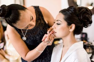 Bridal HD airbrush makeup by Doranna Wedding Hairstylist & Bridal Makeup Artist at Thompson Playa del Carmen