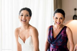 Mother of the bride hair and makeup at Thompson Playa del Carmen by Doranna Wedding Hairstylist & Bridal Makeup Artist